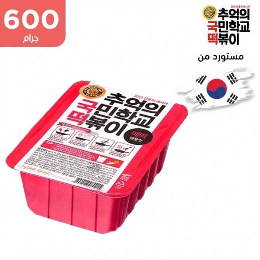 كوك توك - وجبة تيوكبوكي بالنكهة الحارة 600 جم