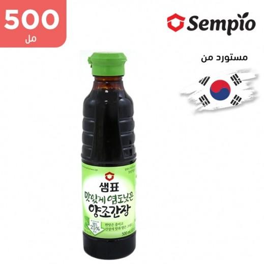 """سيمبيو – صوص فول الصويا الطبيعي خفيفة """"قليل الصوديوم"""" 500 مل"""