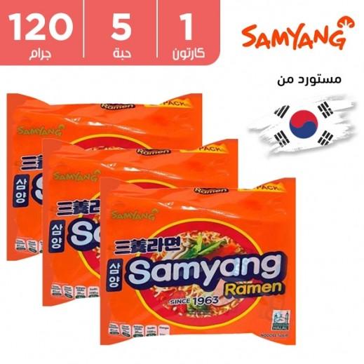 ساميانج – شعيرية نودلز رامن 5 × 120 جم