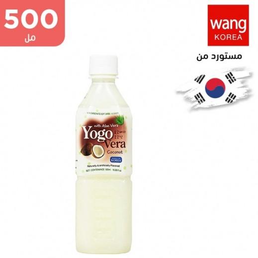 وانج – مشروب غير غازي بالألوفير مع جوز الهند 500 مل