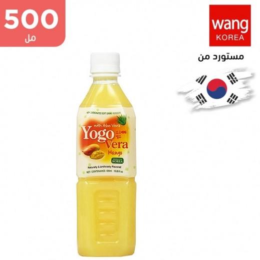 وانج – مشروب غير غازي بالألوفير مع المانجو 500 مل