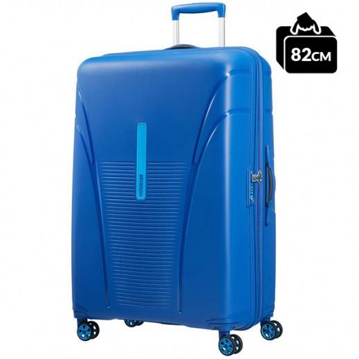أميريكان تورستر – حقيبة سفر سكاي تريسر (هايلن) سبينر أزرق 82 سم