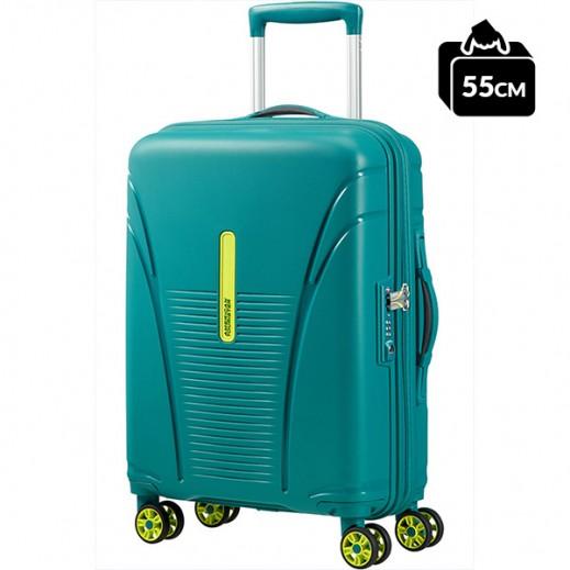 أميريكان تورستر – حقيبة سفر سكاي تريسر (سبرينج) سبينر أخضر 55 سم