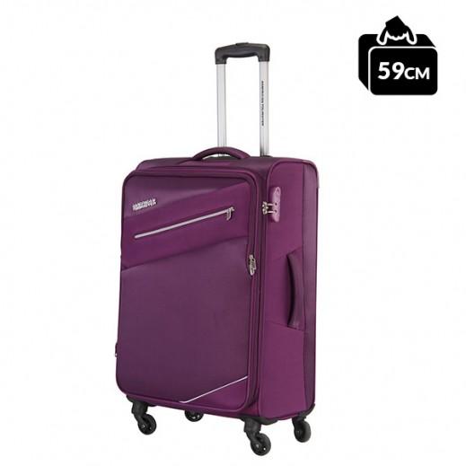 أميريكان تورستر – حقيبة سفر فيجي سبينر 59 سم - لون برقوقي