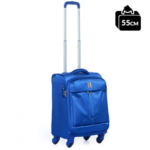 ديلزي – حقيبة تروللي (G9) للسفر 55 سم – أزرق فاتح