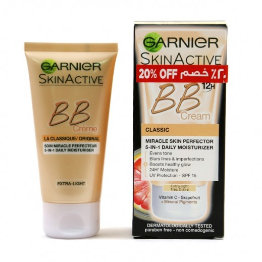 Garnier Skinactive BB Miracle Skin Perfector Cream Light 50 ml