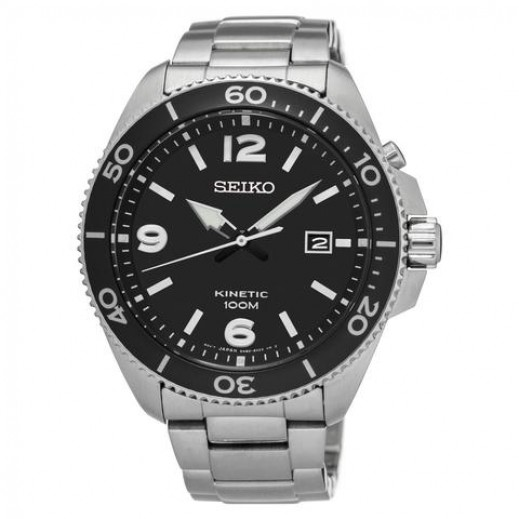 سيكو- ساعة يد للرجال كرونوغراف ستانلس ستيل - يتم التوصيل بواسطة Marshall Al-Alamiah Company