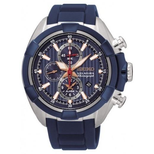 سيكو- ساعة يد للرجال كرونوغراف رياضية - يتم التوصيل بواسطة Marshall Al-Alamiah Company
