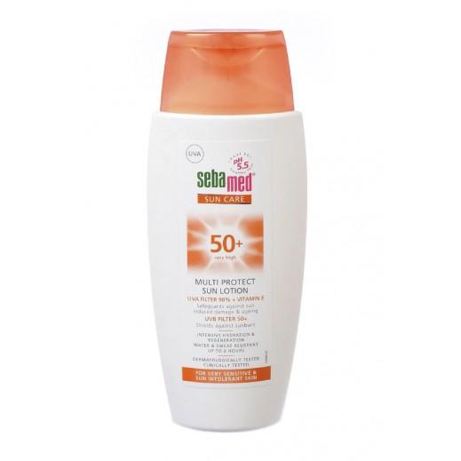 سيباميد - مرطب الجسم للحماية من الشمس SPF 50 - عبوة 150 مل