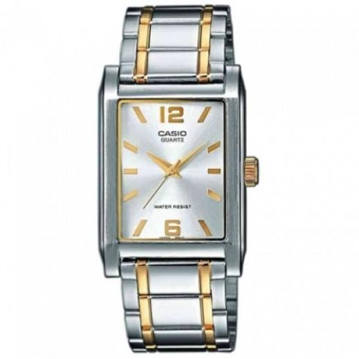 كاسيو - ساعة يد انتيسر للسيدات استانلس استيل بعقارب     - يتم التوصيل بواسطة Veerup General Trading