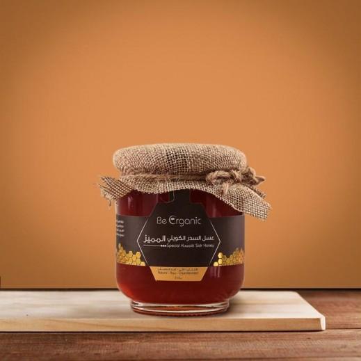 بي اورجانيك – عسل سدر طبيعي مميز كويتي 250 جم
