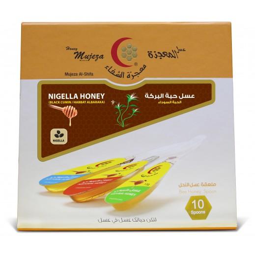 معجزة الشفاء – عسل حبة البركة 15 جم × 10 ملعقة