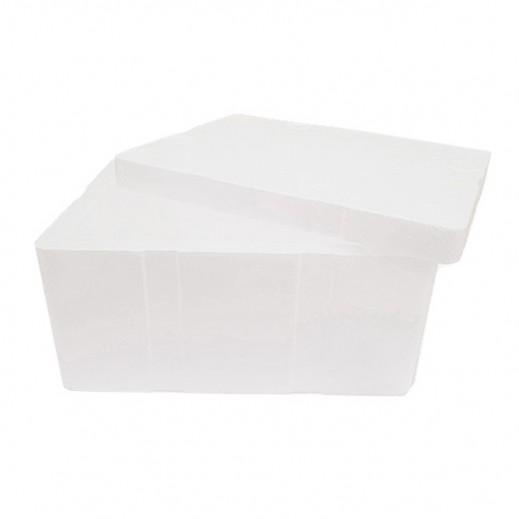 كويت بوليمار - صندوق تبريد ستايروفوم مستطيل 30.5 × 18.5 × 11.5 سم