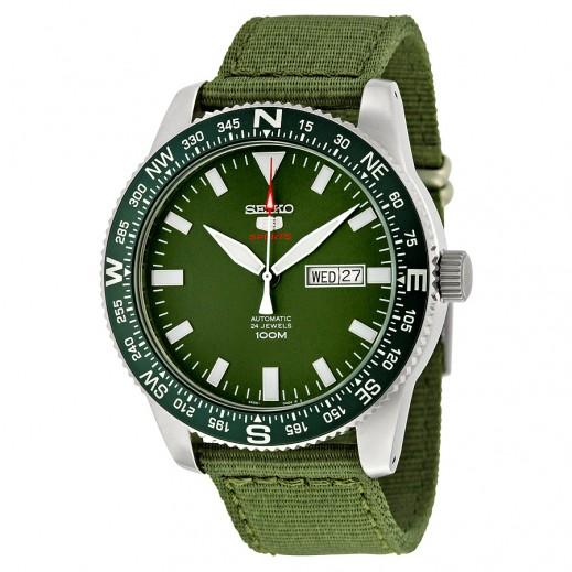 سيكو- ساعة يد للرجال ستانلس ستيل - يتم التوصيل بواسطة Marshall Al-Alamiah Company