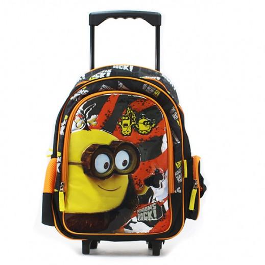 مينونز  – حقيبة مدرسية ترولي 16 بوصة
