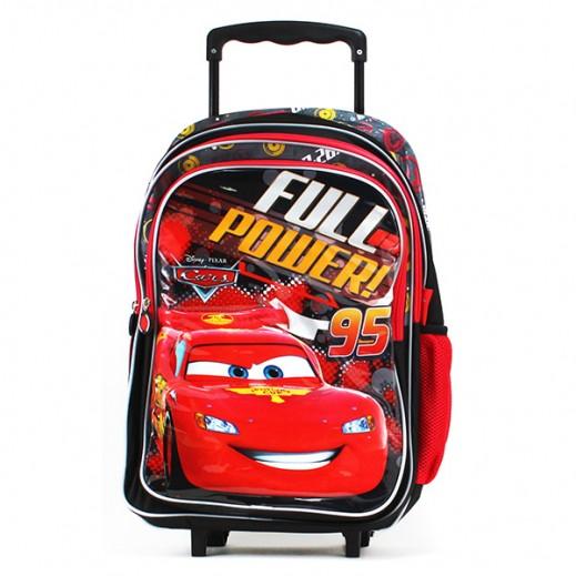 سيارات ديزني – حقيبة مدرسية ترولي 18 بوصة