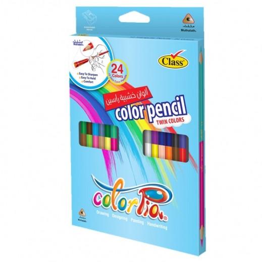 كلاس - كلربيا طقم أقلام رصاص ملونة