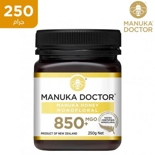 دكتور مانوكا ام جي او 850+ عسل احادي الزهرة 250 جم