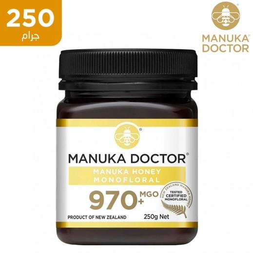 دكتور مانوكا ام جي او 970+ عسل احادي الزهرة 250 جم