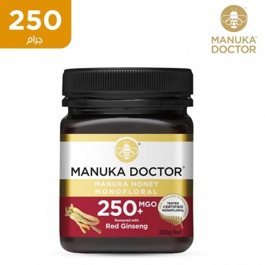 دكتور منوكا عسل احادي الزهرة مع الجينسنج الأحمر 250 جم (+250)