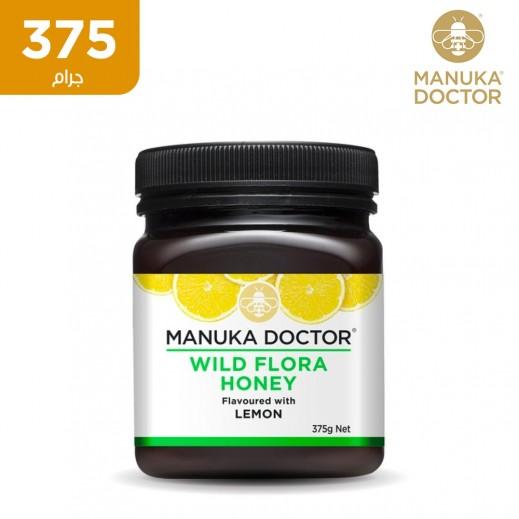 دكتور منوكا عسل النباتات البرية بالليمون 375 جم