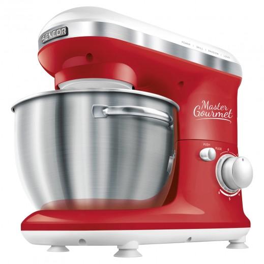 سينكور – ماكينة مطبخ 4 لتر 600 واط – أحمر - يتم التوصيل بواسطة United Techno Electric Company