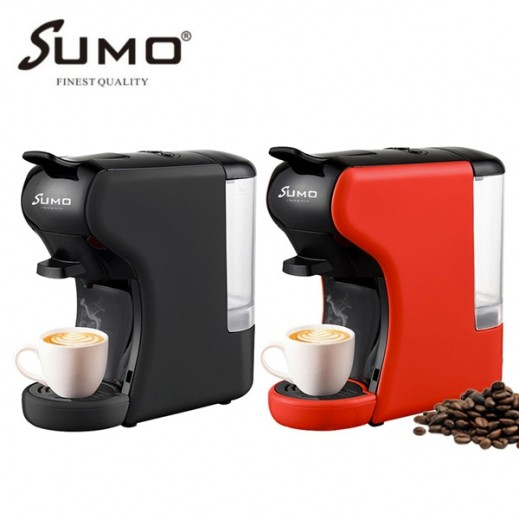 سومو -  ماكينة تحضير القهوة 3 في 1 متوافقة مع عدة كبسولات بقوة 1450 واط