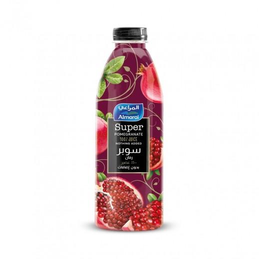 المراعي - عصير السوبر بالرمان 1 لتر