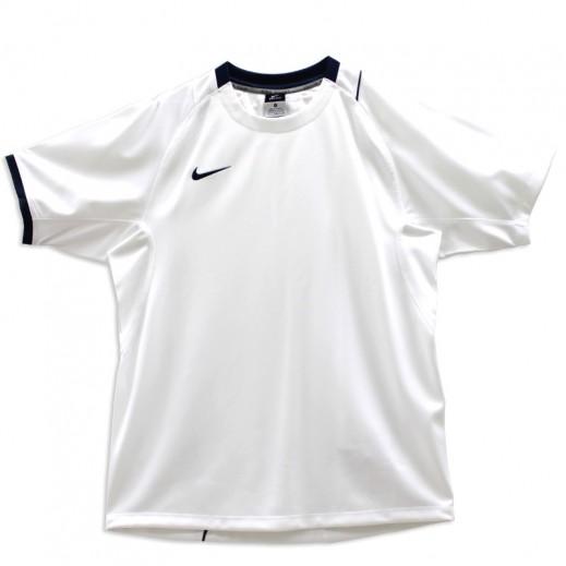 نايكي – تي شيرت كرة قدم رجالي أبيض
