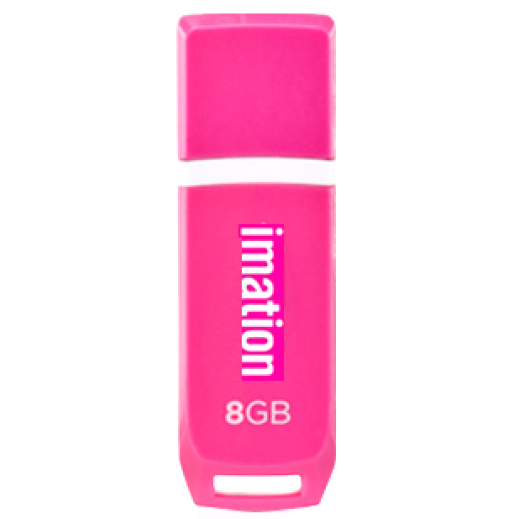 Imation 8GB Cool Flash Drive Pink