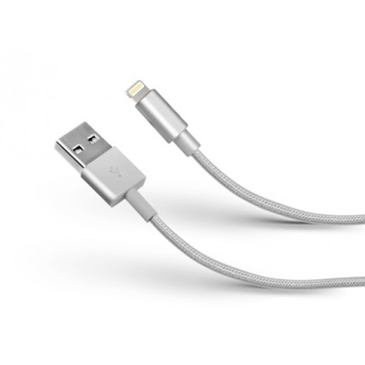 SBS Data Cable USB 2.0 To apple Lightning Silver