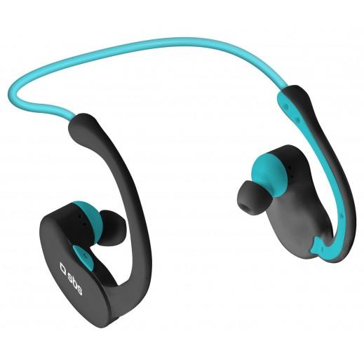 SBS Earset سماعت بلوتوث ستيريو Runway الرياضية للآي فون، والهواتف الذكية والأجهزة الخليوية