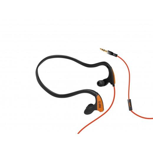 سماعات في اذن SBS سلكية RUNWAY PRO SPORT لجميع اجهزة الجوال - اسود برتقالي