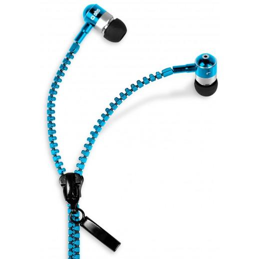 SBS سماعة سحاب Earset Zip Closure - لون أزرق