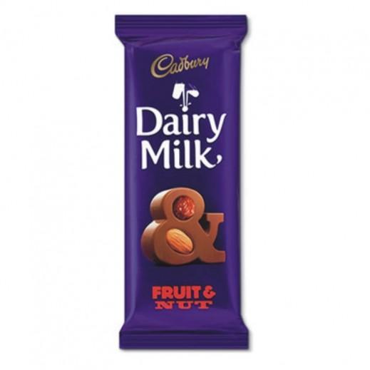 كادبوري - شوكولاته حليب بالمكسرات والفاكهة 100 جرام