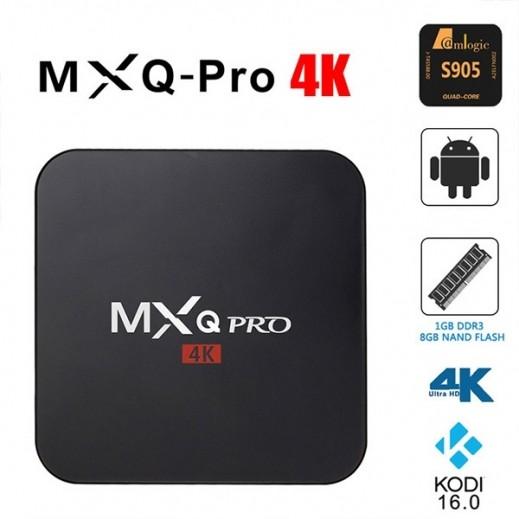 ماكس برو - جهاز تشغيل نظام الأندرويد على التلفاز Ultra HD بدقة 4K