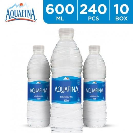 أكوافينا – مياه شرب نقية 600 مل (10 × 24) – أسعار الجملة - يتم التوصيل بواسطة توصيل الجملة خلال 8 ساعات