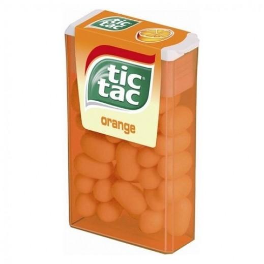تك تاك البرتقالي - علك بطعم النعناع 16 جم