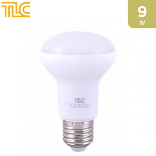 تي إل سي – مصباح إضاءة LED E27 R63 بقوة 9 واط – أبيض - 1 حبة