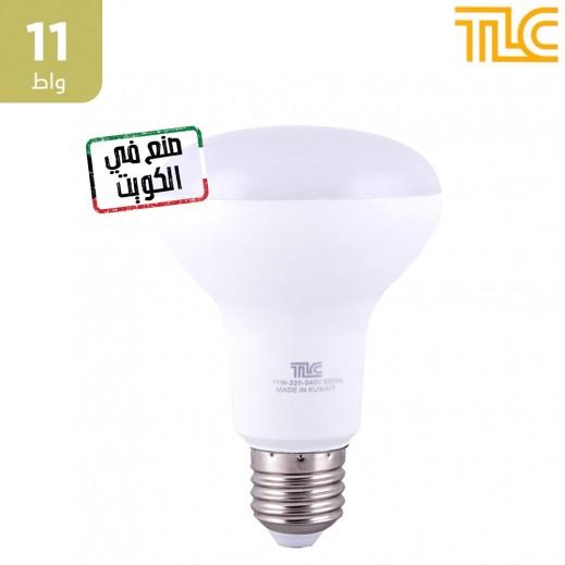 تي إل سي – مصباح إضاءة LED E27 R80 بقوة 11 واط – اصفر - 1 حبة