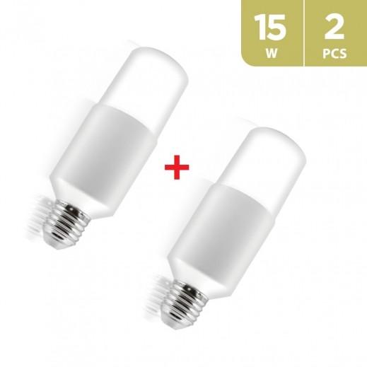 جلوبال– لمبة 15واط LED - ابيض (2 حبة)