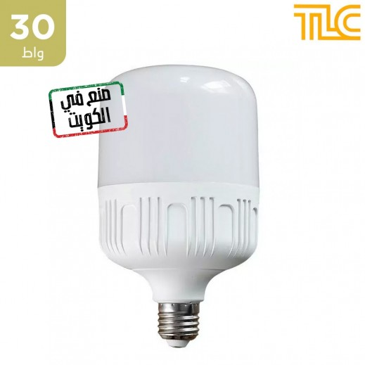 تي إل سي – مصباح إضاءة LED بقوة 30 واط – أبيض – 1 حبة