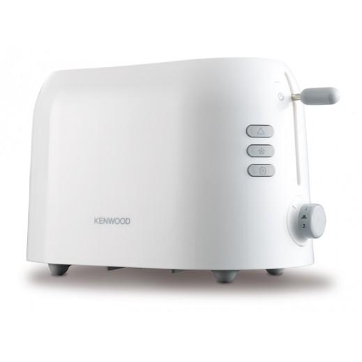 كينوود – محمصة الخبز 2 شريحة مع وظيفة إذابة التجمد وإعادة التسخين 900 واط – أبيض