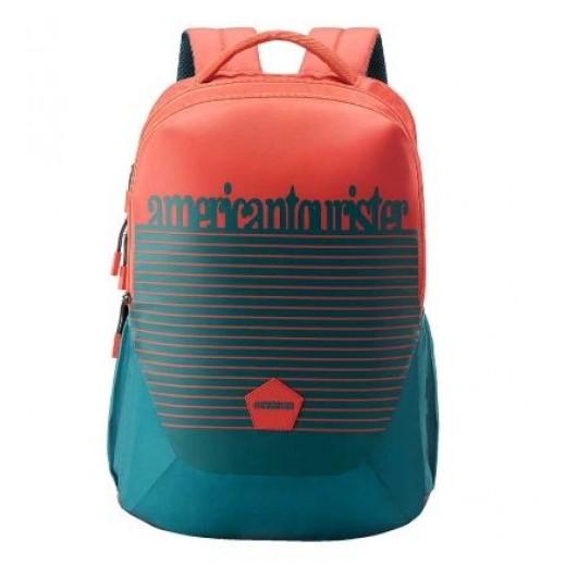 أميركان توريستر - حقيبة ظهر Turk 03  - أحمر وأخضر