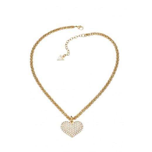 جِس – قلادة معدنية بلون ذهبي مع قلب     - يتم التوصيل بواسطة Beidoun