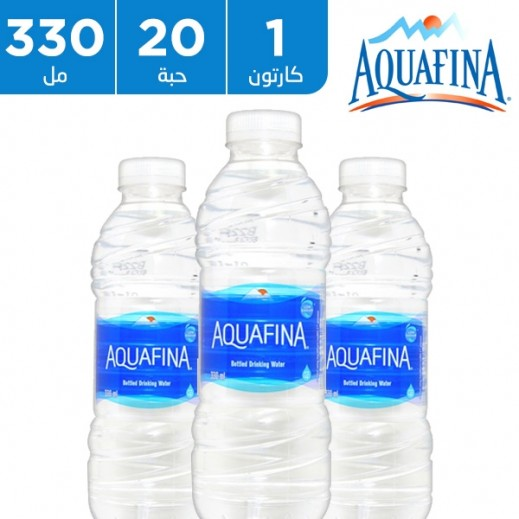 أكوافينا - مياه شرب نقية 20 × 330 مل