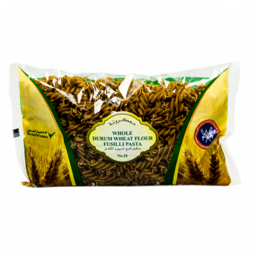 KFM Whole Durum Wheat Flour Fusilli Pasta (No 20) 400 g