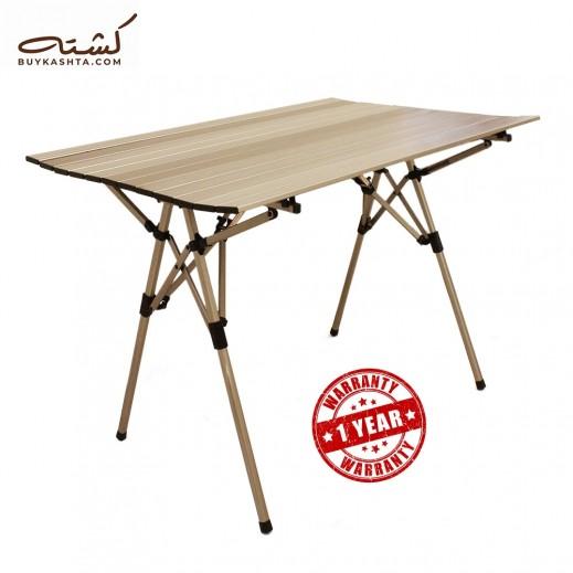 كشتة - طاولة نزهة من الالمنيوم تنطوى بسهولة مع شنطة تخزين