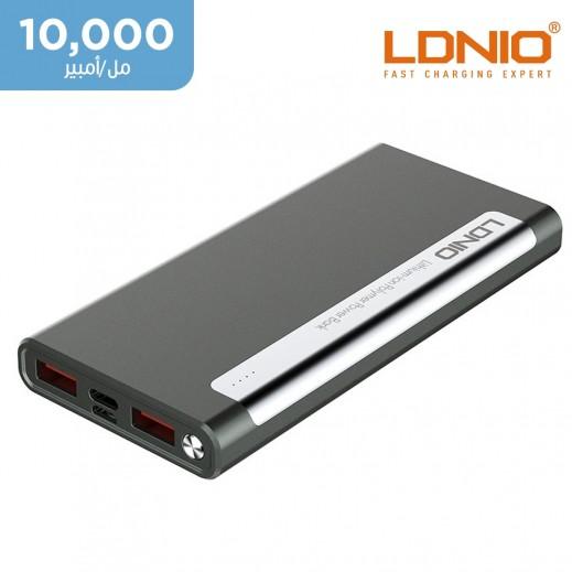 لدنيو –  بطارية إحتياطية سعة 10000 مل أمبير ثنائي USB – أسود