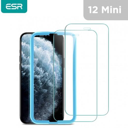 اي اس ار – حماية شاشة لآيفون 12 مينى – شفاف – 2 قطعة